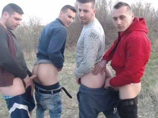 Gorgeous Boys Outdoor Fuck