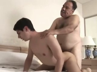 old dad fucks