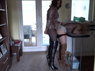 Alison Thighbootboy and Zara - Leopard Print Fuckers