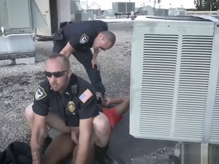 Police mens nude and gay porn site undressing video Apprehended Breaking