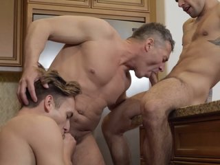 Ty Mitchell & Bar Addison in Three-Timing Stepdad: Bareback - MenNetwork