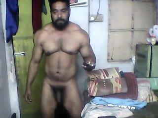 Indian Muscle (No cum) Part 1