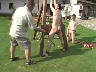 Good boys get spanked well