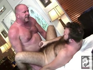 Awesome chubby old bears sex