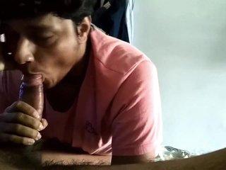 Indian boy blowjob