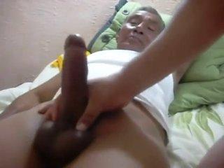 Indonesian grandpa fucked a chubby guy 2