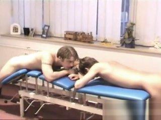 Hot Medicos finger and spank intruders