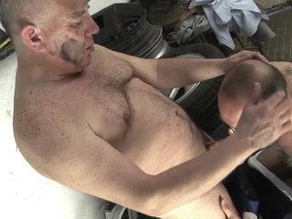 My mechanic lubricates my ass