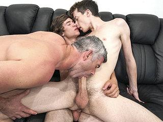 familyDick - Stepdad Walks In on him With The Boy Next Door
