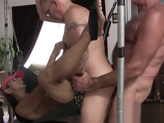 Old vs young fetish and breeding in roughest orgy