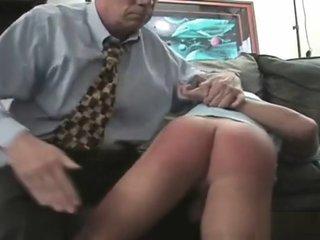 Dad spanks his naughty boys