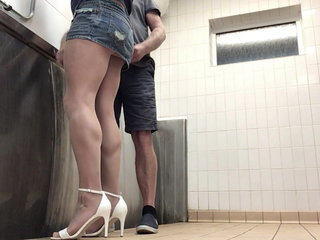 Totally caught in the public toilets PART 2.
