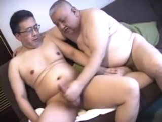 Chubby Japanese DaddyFuck2