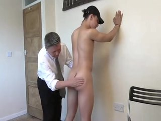 His very first spanking