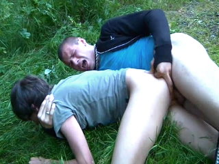 Twink gets a rough fuck in Bavarian Forest