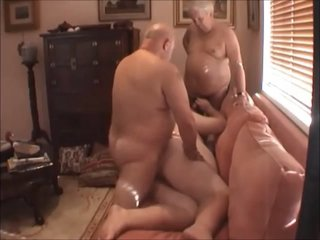 Superchub Threesome - Young Chubby Boy and His Two Older Daddy Bears