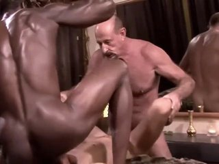 Two huge cocks release Dek's tension