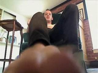 Daddy talk - Son foot fetish