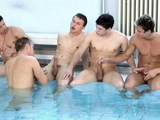 David Watts, Dion Davydov, Justin Corner, Nikandro Sideropulos, Tom Hawai in Splash scene 2 - Bromo