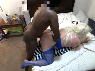 SouthCarolinaBBC Rough Fucks Blonde White Sissy HARD n DEEP