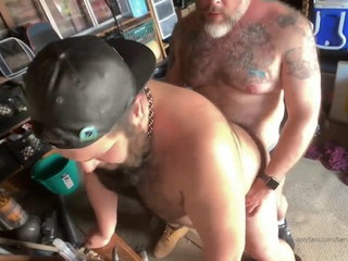 b3nnythep00h fuck a sexy deddy bear