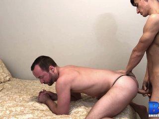 BREEDMERAW Bottom Stud Alex Hawk Fucked Raw By Young Jock