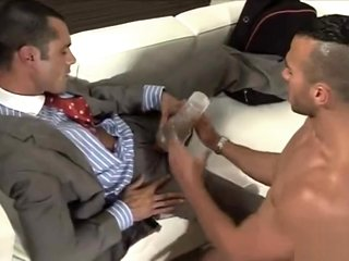 sex in the office with a fleshlight