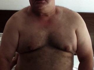 Grandpa face fucking young boy
