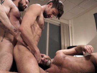 Double Penetration And Daddy Piss With Sergeant Dirk And Drew