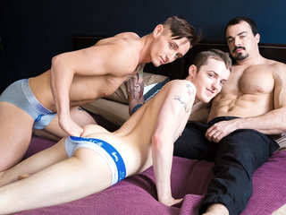 Lance Ford & Dominic Green & Alex James in 3 Can Play That Game - NextdoorWorld