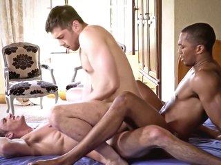 Cum Hungry Butt Sluts, scene 2