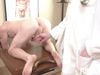 Dr. Wolf's Office. Caleb & Dr Wolf - (BAREBACK HOT ).