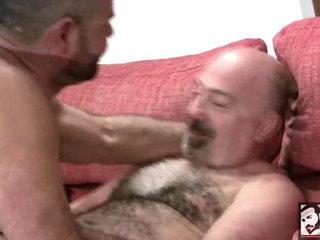 Spanish Bear Blowjob with Rodrigo Toro and Arturo Granadino