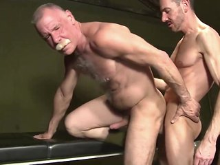 threesome sex with dad and grandpa