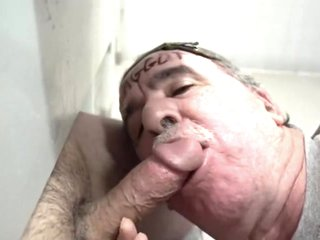 COCK AND CUM HUNGRY GLORYHOLE AND UNDERSTALL COCK SUCKING FAGGOTS!