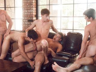 Josh Brady & Joey Mills & Corbin Colby & Cameron in Splash - HelixStudios