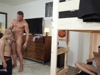 Sorry Mom - Myles Landon Fucks Logan Cross & Daniel Hausser