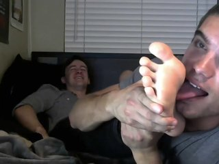 Twinks Tickle and Lick Feet