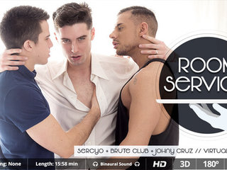 Brute Club & Johny Cruz & Sergyo in Room Service - SexLikeReal Gay
