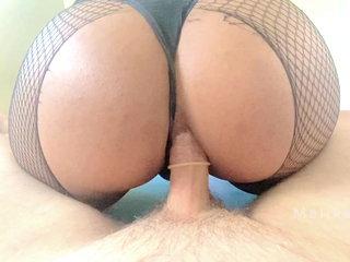 Slut edition: sloppy bjs, creampies and riding hot men deep