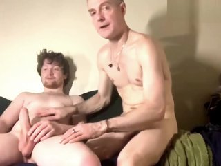 older man sucking young cock
