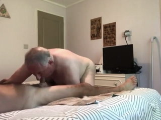 Two Older guys fuck.