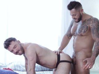 large knob In Latino Bodybuilder