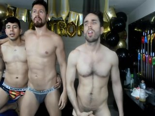 Threesome guys