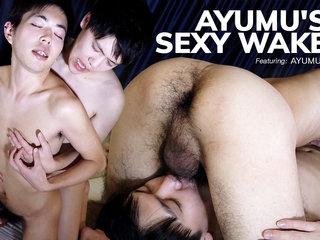 Ayumu's Sexy Wakeup - JapanBoyz