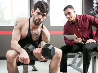 Anthony Moore & Julian Brady in Moore Gym Recruits - NextdoorWorld