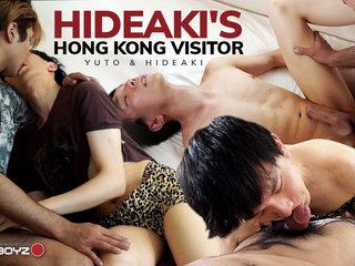 Hideaki's Hong Kong Visitor - JapanBoyz