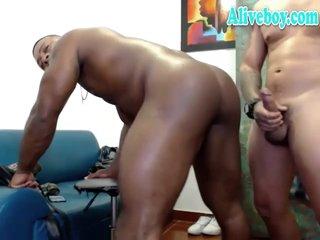 tattooed jock anal fucking big ass black dude