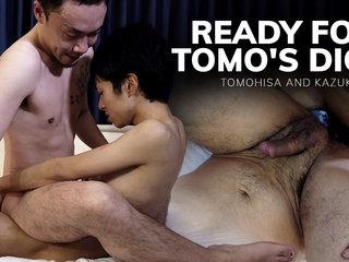 Ready For Tomo's Dick! - JapanBoyz