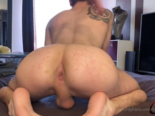 French twink takes a big cock